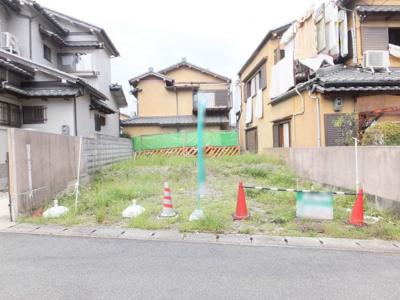 【外観】伏見区日野野色町 建築条件付き土地