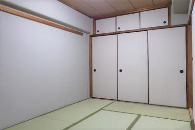 【現地写真】 和室ではお子様のお昼寝や客間としてご利用頂けます♪ ゆっくりくつろげる和室もございます♪