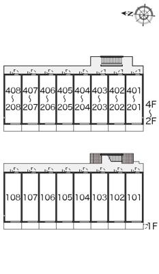 【区画図】レオネクスト舟橋