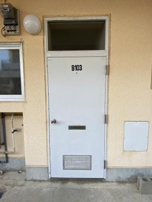 【玄関】さくらハイツB棟