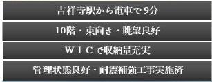 高井戸永谷マンション 10階部分