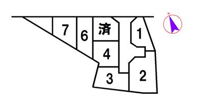 【区画図】加東市社7号地