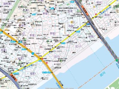【地図】プレジール