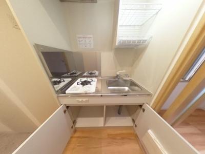 【キッチン】清潔感ある賃貸マンション