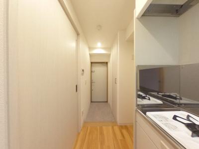【玄関】清潔感ある賃貸マンション