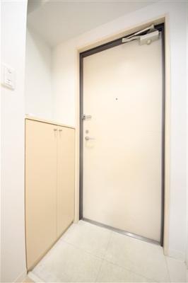 【玄関】パークハウスナンバ