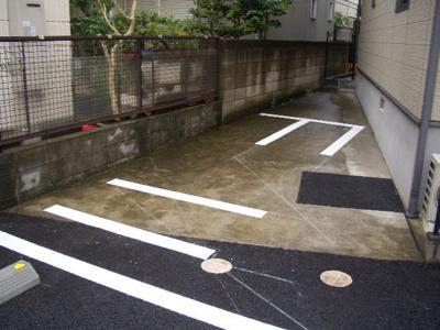 【外観】イーストソレイユ駐車場