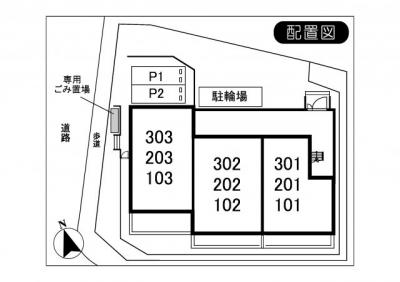 【区画図】オークフォレスト