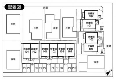 【区画図】パレット新百合ヶ丘