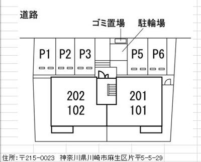 【区画図】リリーフルーレ