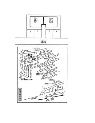 【区画図】ヴィラグレース百合ヶ丘