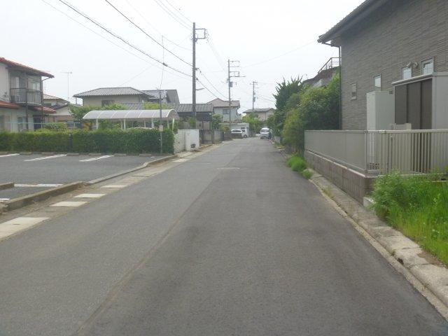 【前面道路含む現地写真】笠原町土地