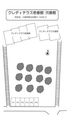 【区画図】クレディテラス壱番館