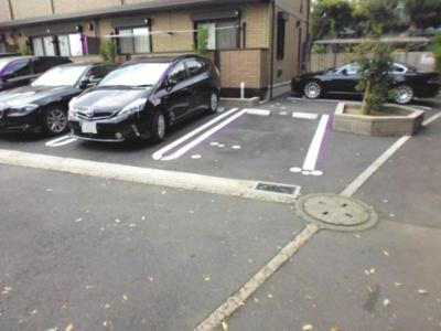【駐車場】ミルフィーユ日吉の丘