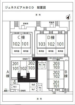 【区画図】ジュネスピア