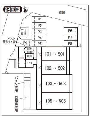【区画図】グランディール オイレ