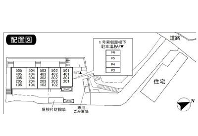 【区画図】コスモ生田駐車場