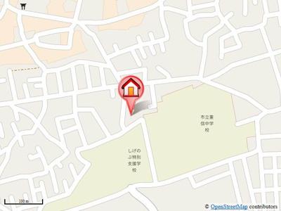 【地図】セジュール力石・