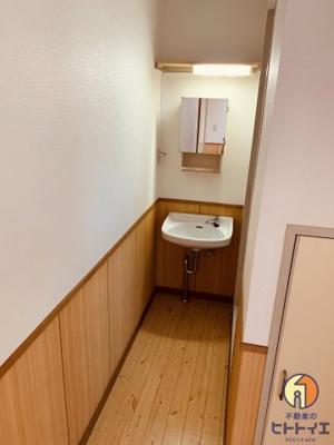 【独立洗面台】八女クリスタルハイム