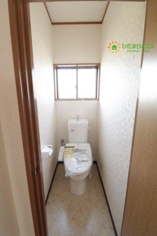 【トイレ】羽生市下新田 中古一戸建て
