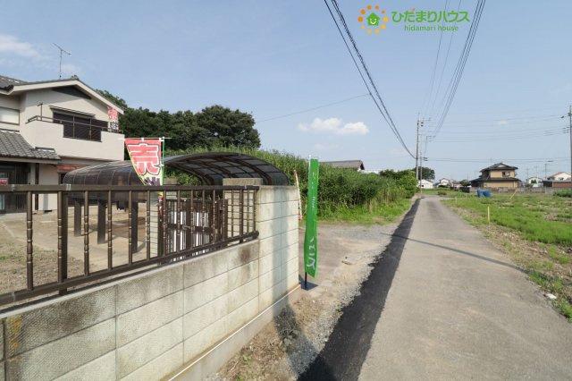【前面道路含む現地写真】羽生市下新田 中古一戸建て