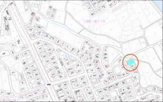【地図】コゾタウン土器東Ⅰ