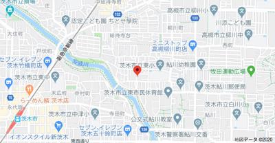【地図】リバーパークkobayashiB棟