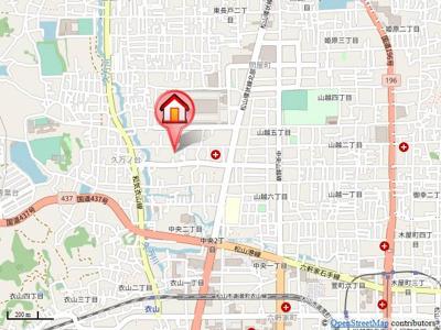 【地図】イノセント・シャイン