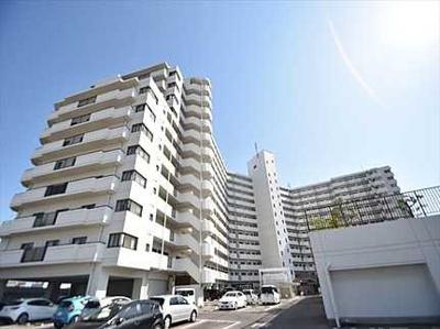 総戸数231戸建物は、広島市内でも指折りのマンションです!