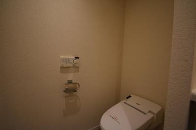 タンクレスのトイレです。