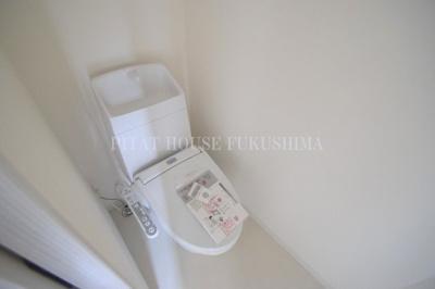 【トイレ】Blue福島 レジデンス