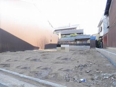 【外観】◆建築条件無し売土地◆京都市営烏丸線『五条駅』徒歩4分◆スーパー徒歩5分◆更地◆下京区西魚屋町