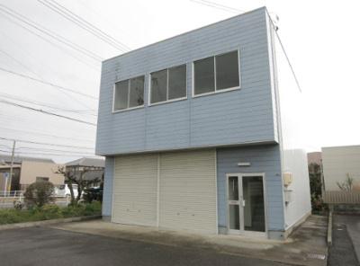 【外観】上和田町倉庫付事務所