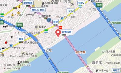 【地図】シエスタ姫里