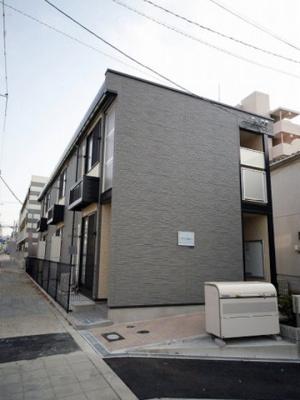 【外観】レオパレスタウンコート北田辺Ⅱ