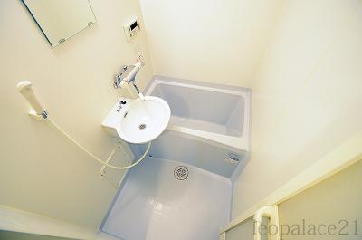 【浴室】レオパレス長居西