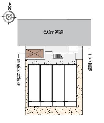 【地図】クレイノHIKARI