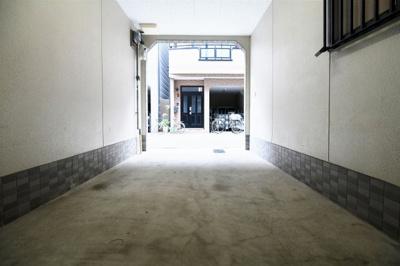 【駐車場】大阪市福島区福島4丁目中古戸建