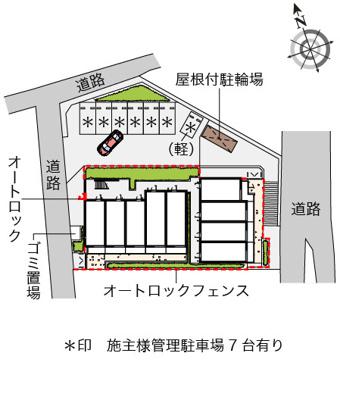 【地図】パークヒルズ妙蓮寺