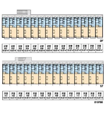 【区画図】綱島西