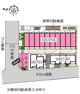 【地図】ヒューゲル参番館