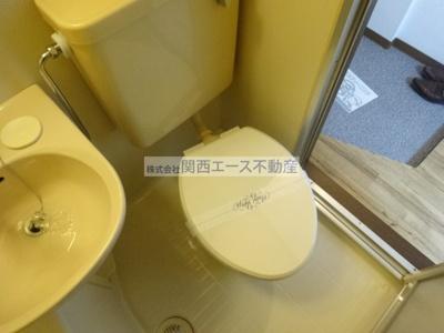 【トイレ】トマトハイツ菱屋西