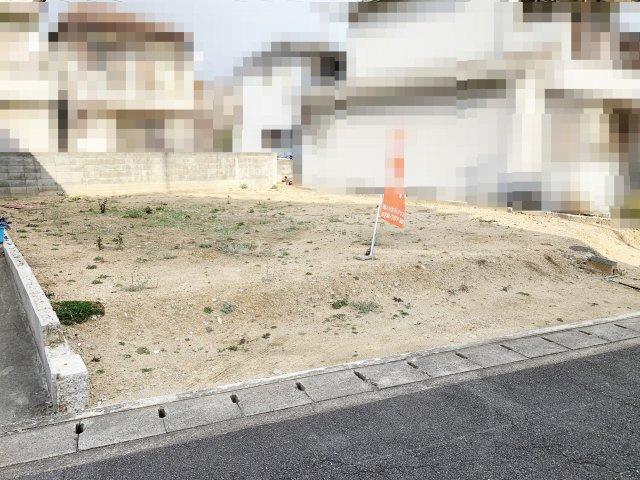 【前面道路含む現地写真】明石市野々上1丁目 土地