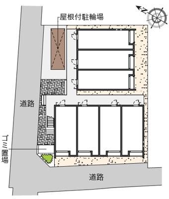 【地図】クレイノウィル春日出