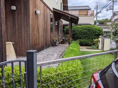 【庭】京都市伏見区桃山与五郎町