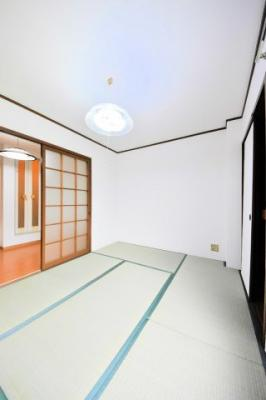 【寝室】第三東洋ハイツ