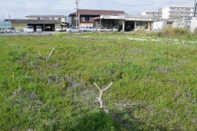 【外観】津山市河辺 事業用地268坪