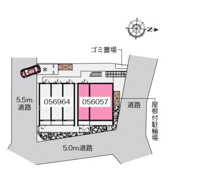 【地図】ドエル 大久保A