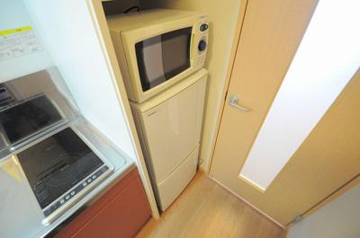 冷蔵庫&電子レンジ付き