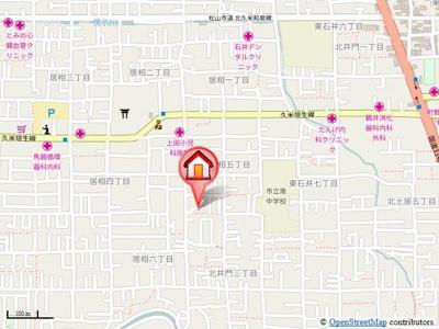 【地図】ユーミーフォートレス・T